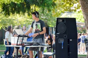 DJ in the Quad