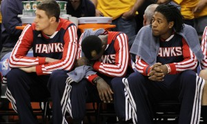 USP NBA: Playoffs-Atlanta Hawks at Indiana Pacers