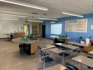 Mr. Cheng's classroom post renovation